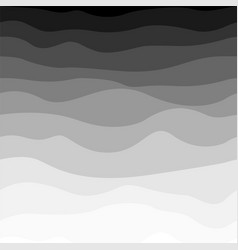 wavy simple striped pattern - halftone design vector image