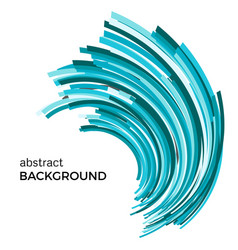Abstract background with colorful curved lines vector