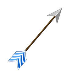 arrow isolated vector image