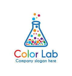 Color Lab vector image vector image