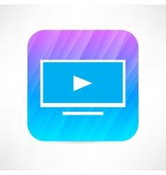 multimedia icon vector image