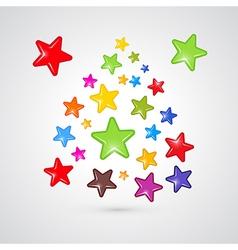 stars feedback vector image vector image