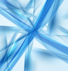 Abstract blue background futuristic technology vector