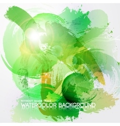 Abstract Watercolor background vector image vector image
