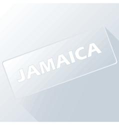 Button Jamaica vector