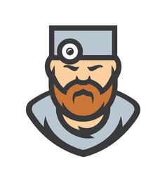 Doctor surgeon cartoon vector
