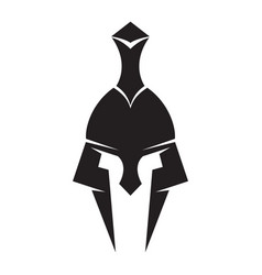 Iron helmet of the medieval knight icon vector