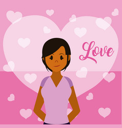 love and people vector image