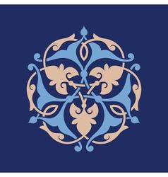 Ottoman decorative pattern vector image