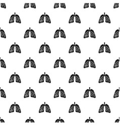 pneumonia lungs pattern seamless vector image