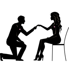 Propose vector image vector image