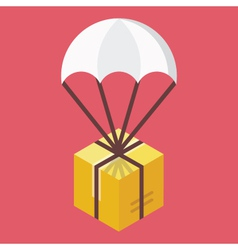 Delivery Icon Global Delivery Concept vector image