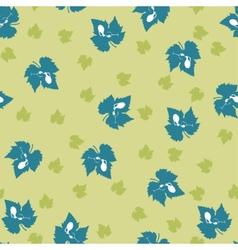 Grape leaf pattern vector image vector image