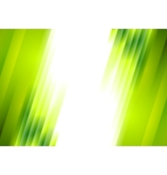 Green blurred stripes bright corporate background vector