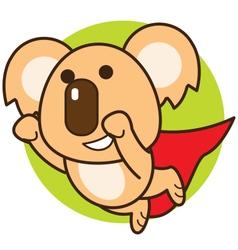 Super Koala vector image