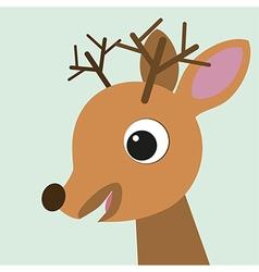 Cute deer vector