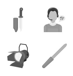Design business hunting and other web icon in vector