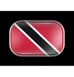 Flag of Trinidad and Tobago Rounded Corners vector