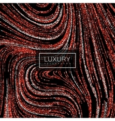 Luxury background with shiny ruby glitters vector image