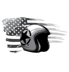 monochromatic america veteran day memorial day vector image