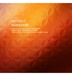 Orange abstract background vector