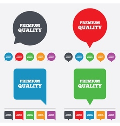 Premium quality sign icon Special offer symbol vector image