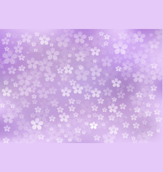 Purple abstract floral background vector
