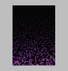 purple circle pattern brochure background vector image