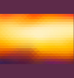 Purple orange yellow red brown rows of triangles vector