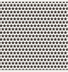 seamless star pattern vector image