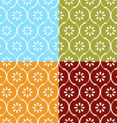 Indian seamless pattern vector image vector image