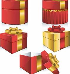 present vector image vector image