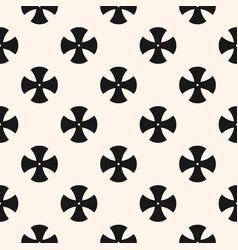 simple floral pattern minimalist seamless texture vector image