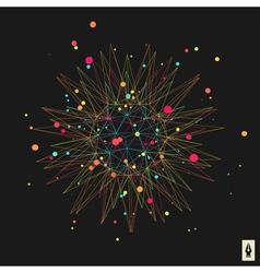 Abstract 3d Design Element Emblem vector image