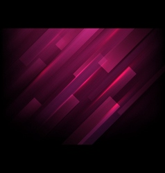 Abstract rectangles with purple lights background vector