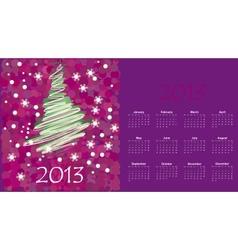 Calendar to a new 2012 year vector