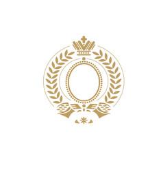 coat of arms heraldic element heraldic shield vector image