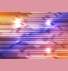 colourful shiny hi-tech geometric background vector image