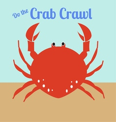 Crab Crawl vector