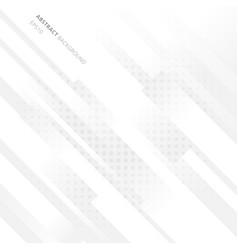 elegant diagonal geometric white background vector image