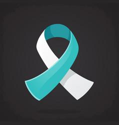 International symbol cervical cancer awareness vector