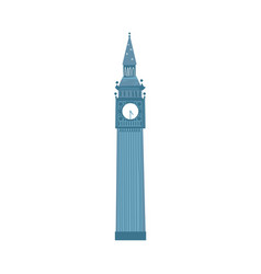 london big ben clock tower london england symbol vector image