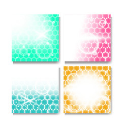 modern background collection vector image