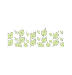 Nice organic leaf plant background vector