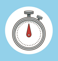 stopwatch sport time icon vector image