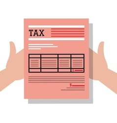 Taxes payday graphic vector image