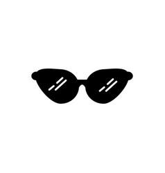 woman sun glasses icon vector image