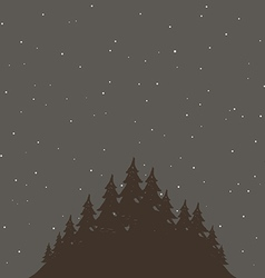 Forest4 vector image vector image