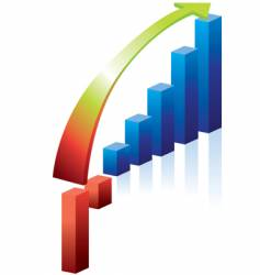 graph recovery vector image vector image