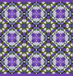 lilac and green pattern vector image